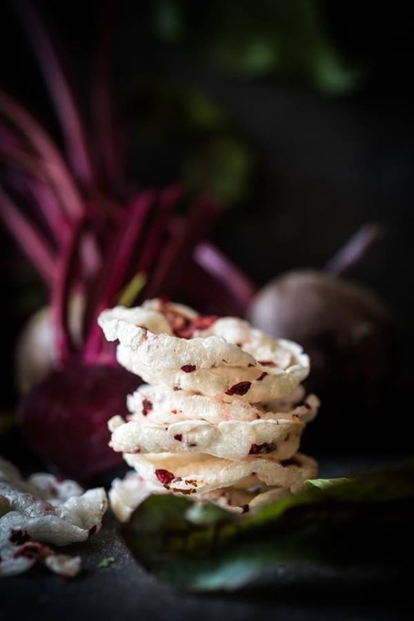 Bulvių trapukai su burokėliais, 150g